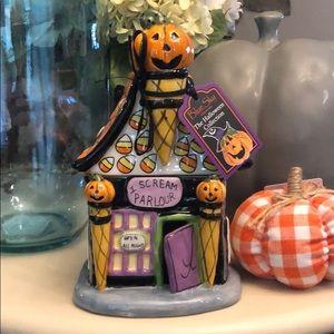 "🆕 Halloween ""I SCREAM PARLOUR"" Candy Jar"